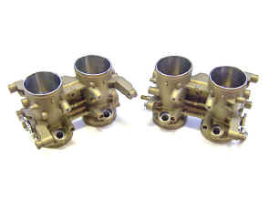 A set of our modified fuel injection throttle bodies c.65.JPG (99588 bytes)